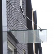 Glazen deurluifel