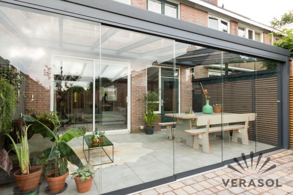 glasschuifwand Verasol